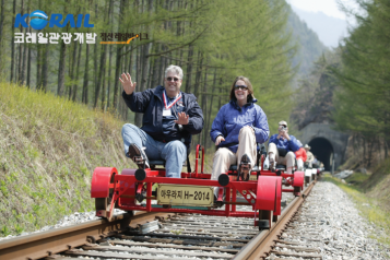 Jeongseon Rail-Bike