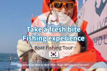 Boat fishing experience day tour