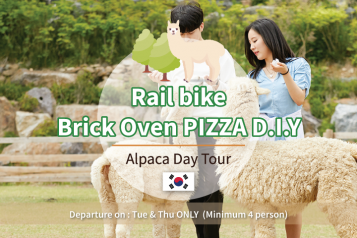 DIY Brick Oven Pizza Alpaca Rail bike Day Tour